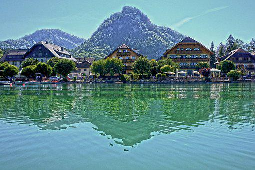 Fuschl, Lake, Mirroring, Reflection, Waters, Fuschlsee