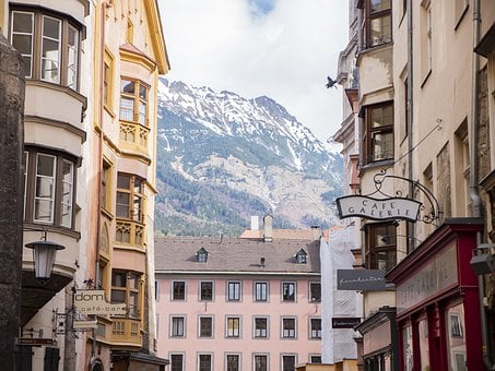 Old, City, Innsbruck, Architecture, Building, Houses