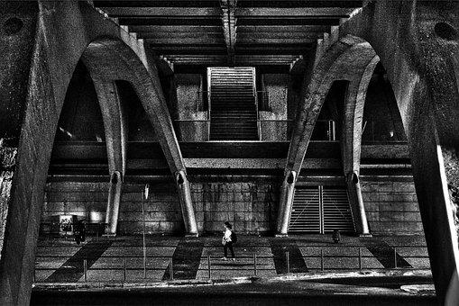 Architecture, Person, City, Street, Urban