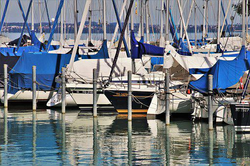 Boat, Port, Haven, Lake, Sailboats, Water, The Silence
