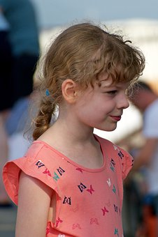 Girl, Beautiful, Smile, Long Hair, Slovenia
