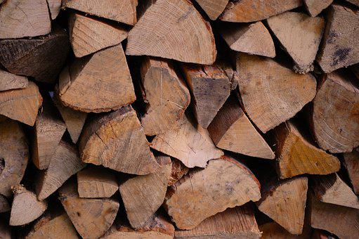 Wood, Firewood, Holzstapel, Growing Stock, Stacked Up