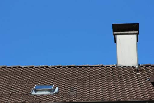 Roof, Brick, Architecture, Tile, Sky, Housetop, Work