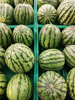 Watermelon, Vegetable, Fruit, Natural, Organic