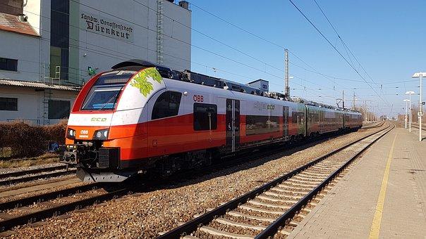 öbb, Train, Rail Traffic, Oebb, Railway, Track