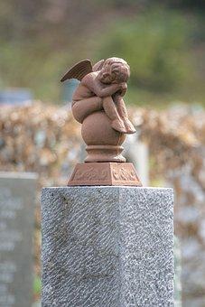 Angel, Cemetery, Harmony, Sculpture, Statue, Death