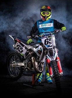 Motocross, Race, Motorcycle, Bike, Sport, Extreme