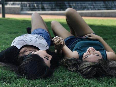Best Friends, Girls, Friends, Nature, Sumer, Friendship