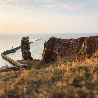 Helgoland, North Sea, Sea, Nature, Island, Water, Rock