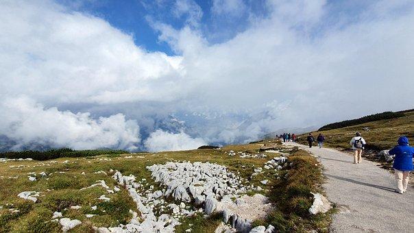 Krippenstein, Panorama, Alpine, Landscape, Dachstein