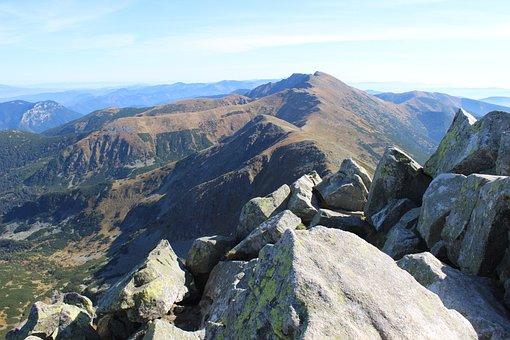 Mountains, Chopok, Slovakia, Mountain, Tatras