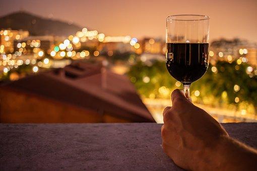 Red Wine, Glass, Wineglass, Red, Wine, Alcohol, Liquid
