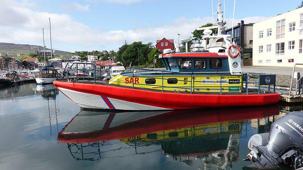 Sar, Lifeboat, Need, Ship, Water, Port, Rescue