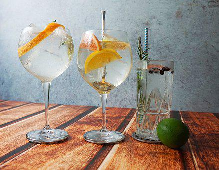 Gin Tonic, Cocktails, Summer Drinks, Gin, Tonic