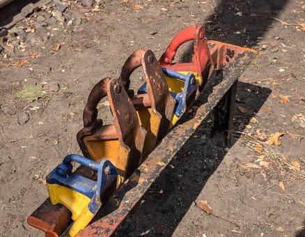 Stumbling Block, Brake Shoe, Railway, Brake Wedge