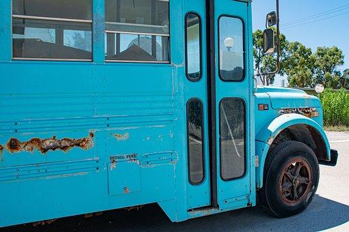Bus, Old Runner, Diesel