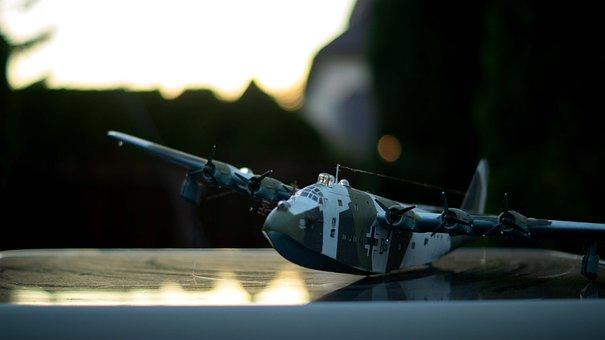 Flying Boat, Modelling, Revell, Model, Aircraft, Ww2, 2