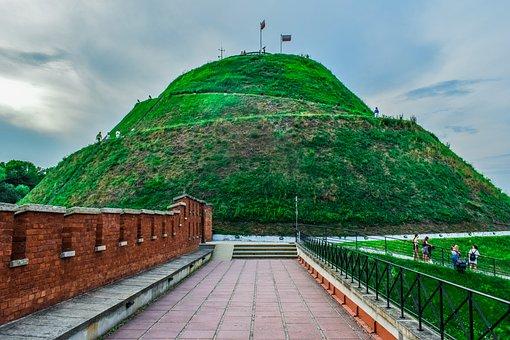 Kosciuszko's Mound, Hill, Monument, Wall, Fortress
