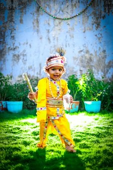 Child, God, Hinduism, Religion, Krishna, Indian, Hindu