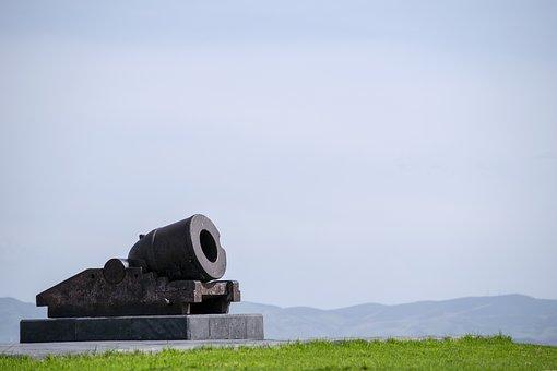 Canon, Artillery, Military, Battle, Historical