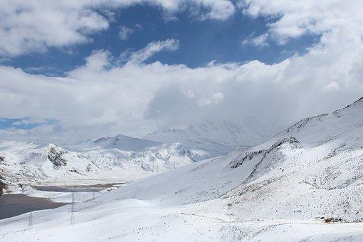 Clouds, Snow, Mountain, Landscape, Winter, Cold, Nature