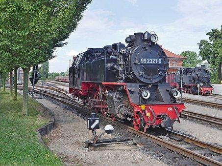 Steam Locomotive, Narrow Gauge Railway
