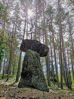 Menhir, Stone, Rock Witches, Mysterious, Mystic, Nature