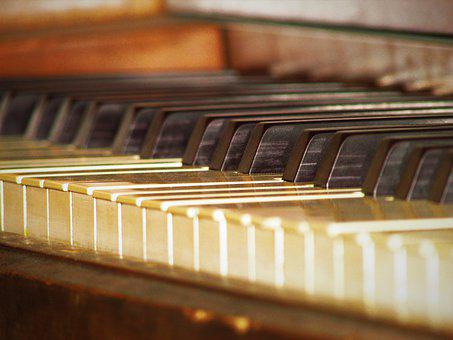 Old Piano, Piano, Old, Music, Instrument, Keys, Sound