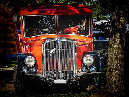 Truck, Antique, Old, Oldtimer, Rarity, Vehicle