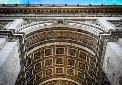 Paris, Arc De Triomphe, France, Architecture, Monument