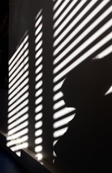 Shadow, Light, Silhouette, Store, Stripe, Investigation