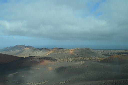 Timanfaya National Park, Lanzarote, Timanfaya, Volcano
