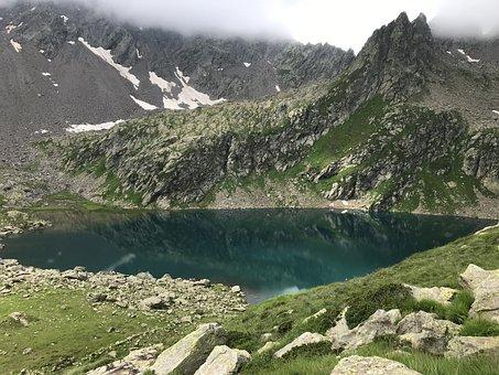 Alpine Route, Alps, Alpine, Walk, Sky, Tops, Excursions
