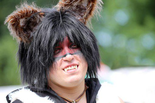 Cosplay, Wolf, Wolf Man, Wolfboy, Wolfman, Cosplayer