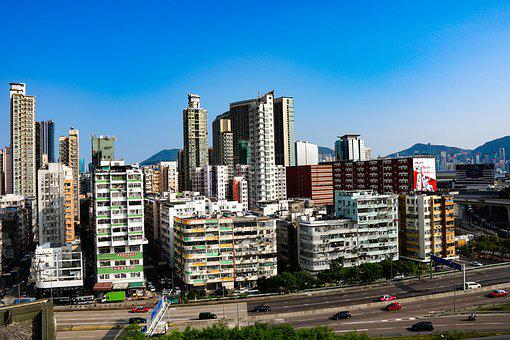 Hongkong, View, City, Cityscape, Landscape, Asia
