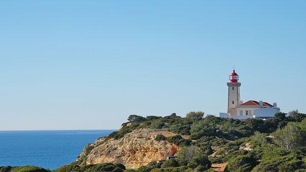 Lighthouse, Sea, Atlantic, Islands, Water, Ocean, Coast