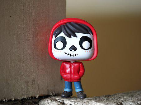 Miguel Of Coco, Boy, Young, Skull, Face, Red, Outfit