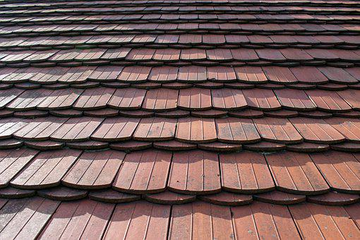 Background, Structure, Roof Shingles, Pattern