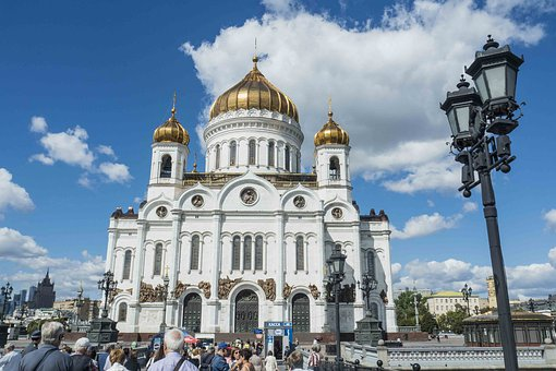 Moscow, Cathedral, Russia, Church, Architecture