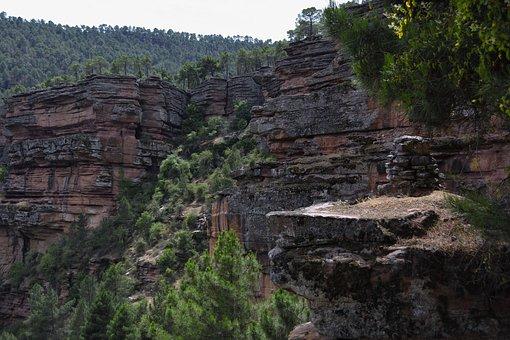 Sickle, Cannon, Rocks, Landscape, River, Geology, Stone