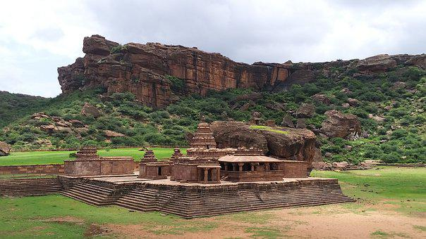 Fort, India, Historic, Building, Ancient, Travel