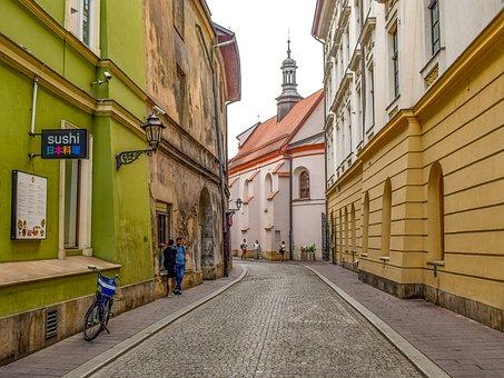 Street, Road, Urban, City, Architecture, Travel