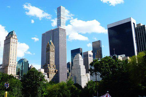Central Park, Tower, Architecture, Building, Skyscraper