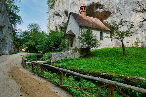 Hermitage, Cross, Christianity, Religion, Monastery