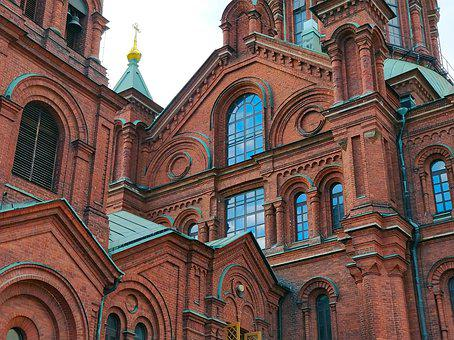 Church, Bricks, Architecture, Building, Old, Historical