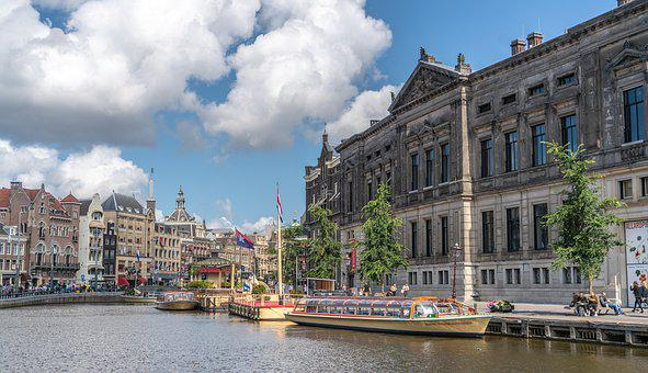 Amsterdam, Canals, Netherlands, Holland, City, Europe