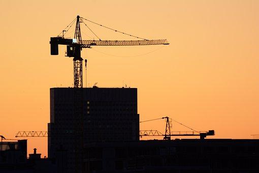 Work, Construction, Tools, Crane, Machine, Industry