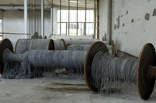 Textile, Role, Industry, Old, Production, Dilapidated