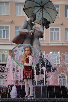 Klintsy, Bryansk Oblast, Area, Girl, Baby, Portrait