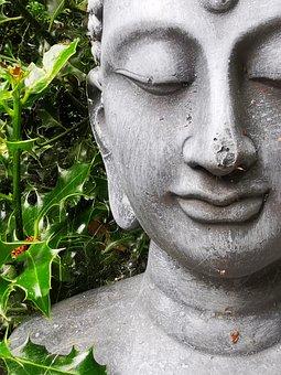 Buddha, Garden, Deco, Buddhism, Meditation, Statue